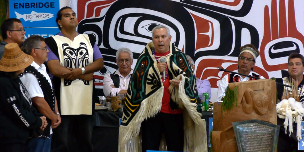 Peter Lantin, president of the Council of the Haida Nation, speaking of the necessity to strengthen traditional non-colonial governance
